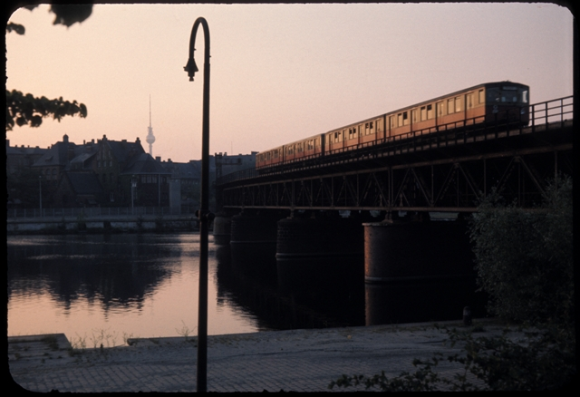 Sunrise over East Berlin