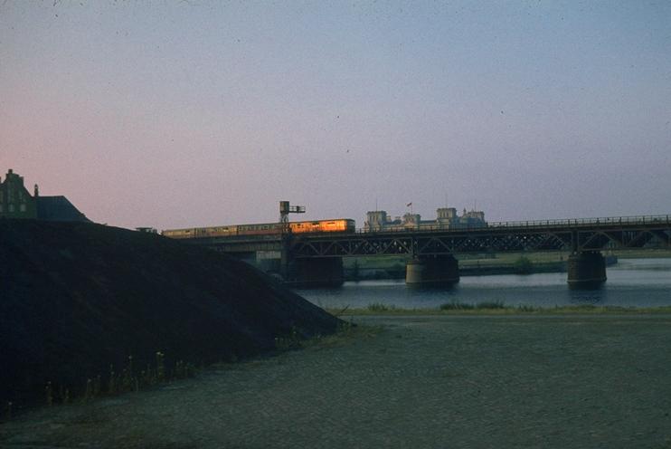 Dawn S-Bahn train