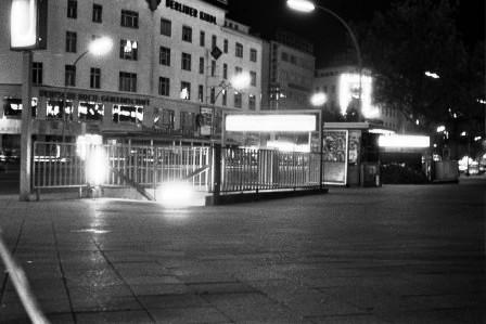 Ku'damm U-Bahn stairs