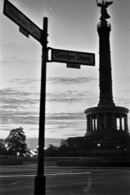 Victory Column pre-dawn