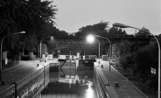 Tiergarten canal locks